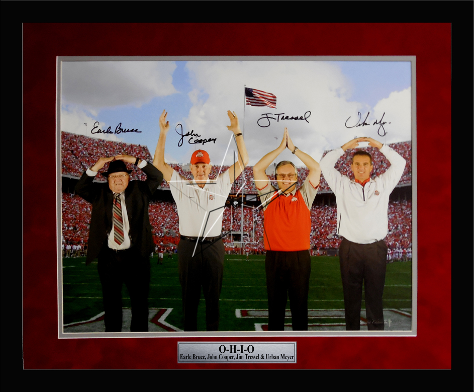 OSU Coaches O-H-I-O Limited Edition Print